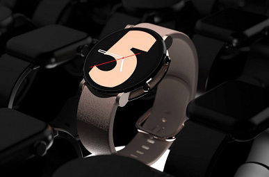 С круглым плоским экраном и клавишей-слайдером. Дизайнер показал концепт умных часов Samsung Galaxy Watch5