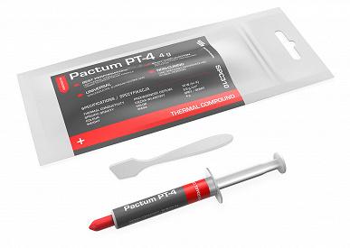 Термопаста SilentiumPC Pactum PT-4 доступна порциями по 1,5 и 4 г