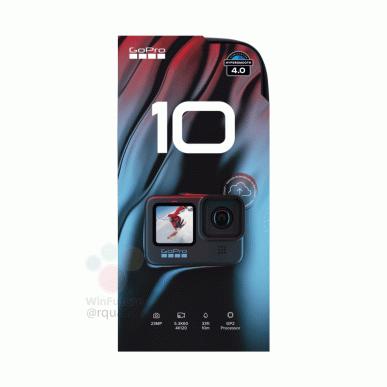 Так выглядит GoPro Hero 10 Black. Официальные рендеры и первые технические подробности