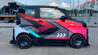 Представлен электромобиль Chery QQ Sport