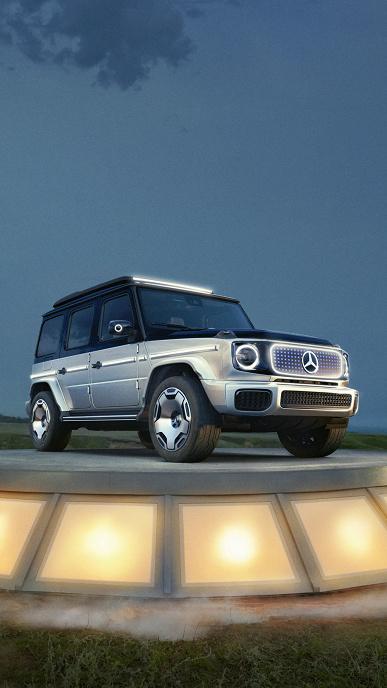 Mercedes-Benz показала, как будет выглядеть электрическая версия легендарного внедорожника G-Класс