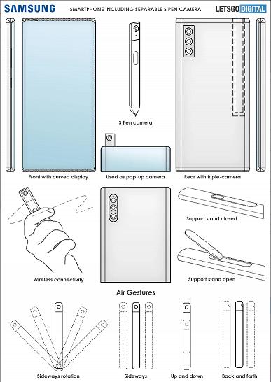 Названа уникальная особенность Samsung Galaxy Note 22: новый стилус S Pen позволит отказаться от селфи-камеры
