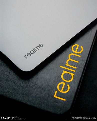 The first Realme Pad tablet finally showed live: published high-quality photos