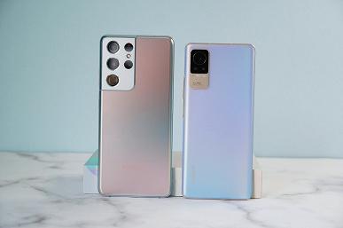 Xiaomi Civi за 350 долларов не уступает по дизайну Samsung Galaxy S21 Ultra стоимостью 1250 долларов: сравнительные фотографии