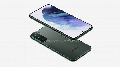 К новому дизайну привыкать не придется. Samsung Galaxy S22+ показали на качественных рендерах