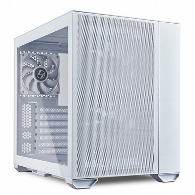 Три панели компьютерного корпуса Lian Li O11 Air Mini изготовлены из сетки
