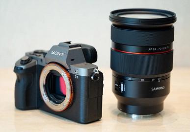 Появились спецификации и новые изображения объектива Samyang AF 24-70mm f/2.8 FE