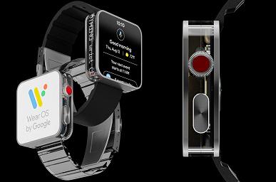 Так выглядят, пожалуй, самые необычные умные часы. Nothing Smartwatch от основателя OnePlus показали на рендерах