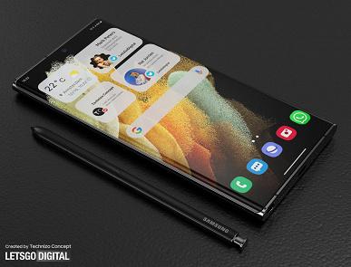 Galaxy S22 Ultra все-таки не получит противоречивую «стекающую» камеру? Новые рендеры смартфона демонстрируют более элегантное решение