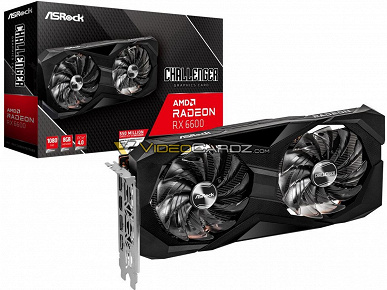 The cheapest AMD graphics card of the current generation.  Many Radeon RX 6600 poses in images