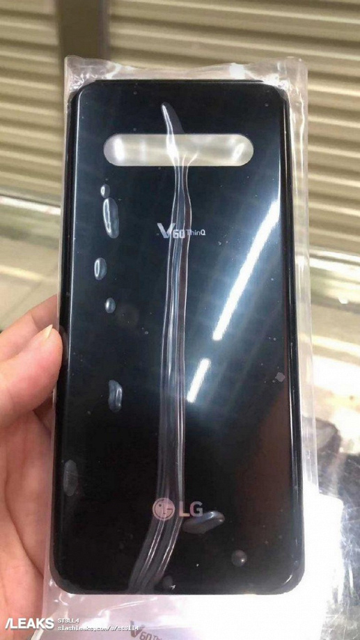 Живое фото подтверждает дизайн LG V60 ThinQ