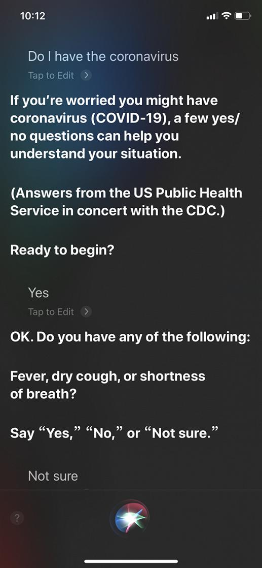 iPhone теперь поможет выявить коронавирус