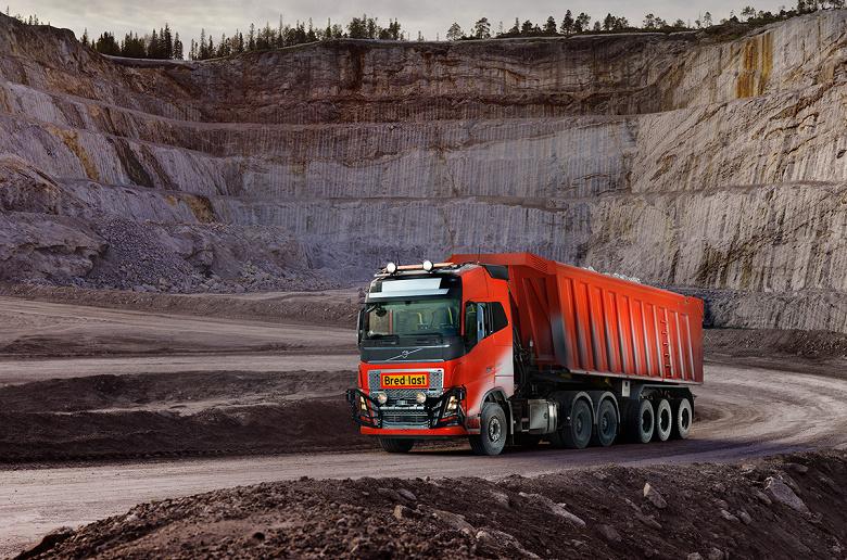 Самоуправляемые грузовики Volvo Trucks будут перевозить известняк в Норвегии