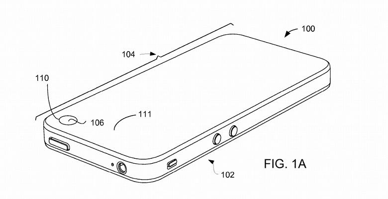 Свежий патент Apple показывает, что компания тоже может взять на вооружение «дырявые» экраны