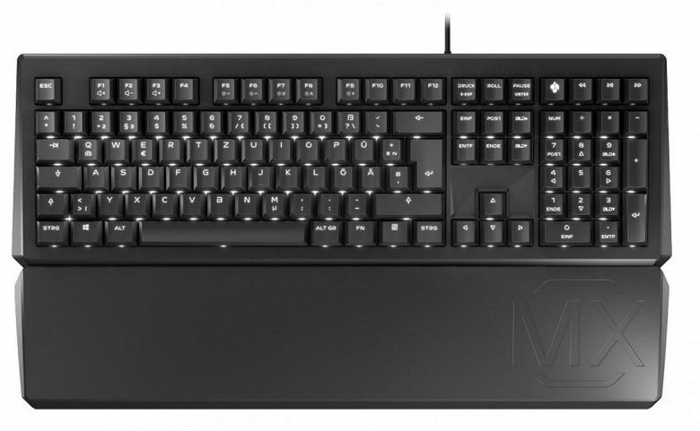 В клавиатуре Cherry MX Board 1.0 используются переключатели Cherry MX