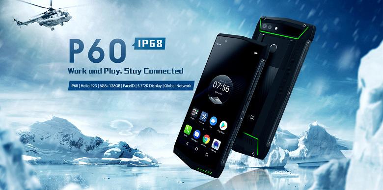 Смартфон Poptel P60