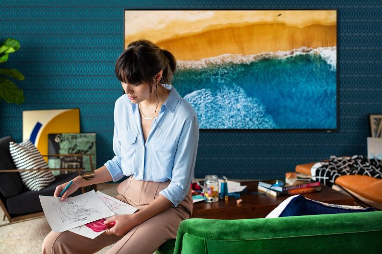 Samsung запустила в России производство своего первого телевизора с разрешением 8K