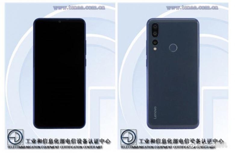 Диагональ экрана смартфона Lenovo Z5s, оснащенного тройной камерой, составляет 6,3 дюйма