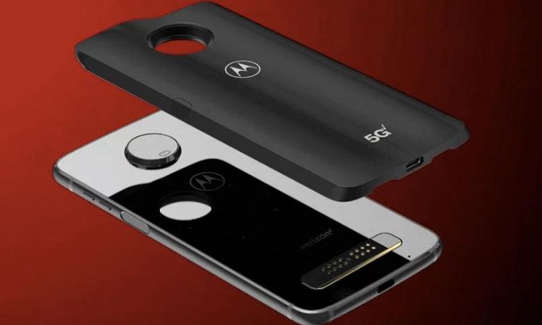 Флагманский смартфон Moto Z4 получит топовую SoC Snapdragon 8150, Android 9.0 и модуль Moto Mod с модемом 5G