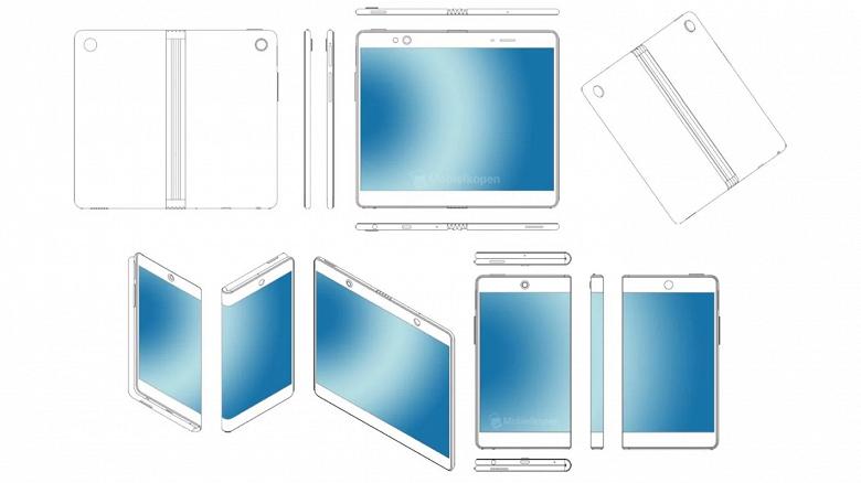 Oppo запатентовала несколько сгибающихся смартфонов