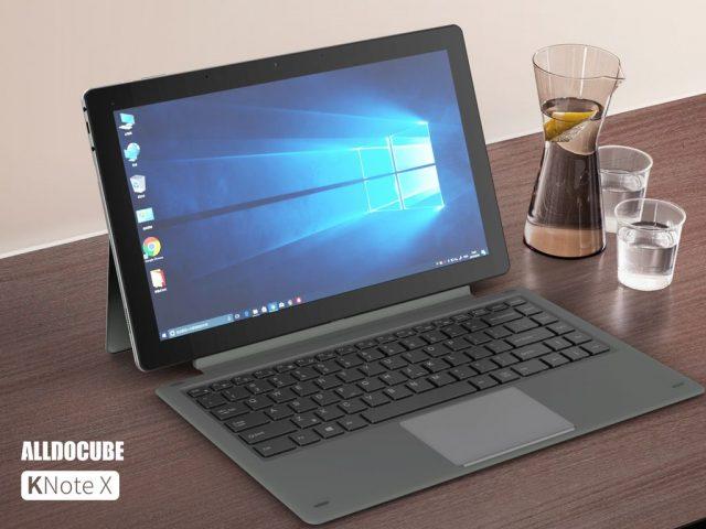 Windows-планшет Alldocube KNote X получил 8 ГБ ОЗУ и клавиатуру с подсветкой