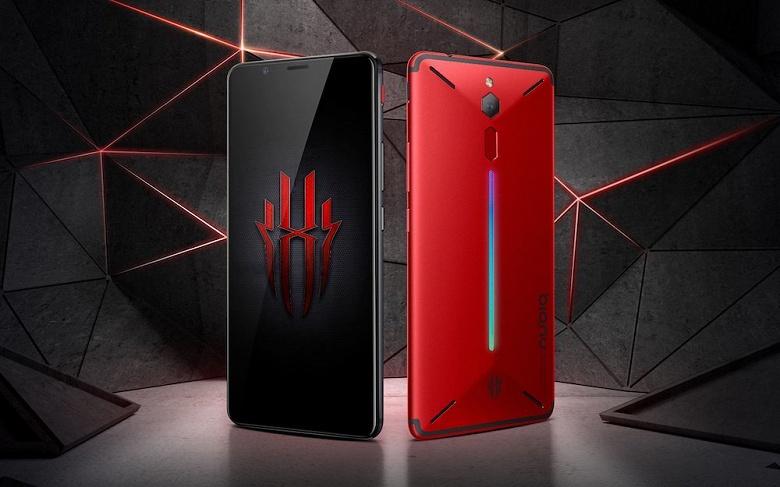 Представлен геймерский смартфон Nubia Red Magic Mars с 10 ГБ ОЗУ и SoC Snapdragon 845