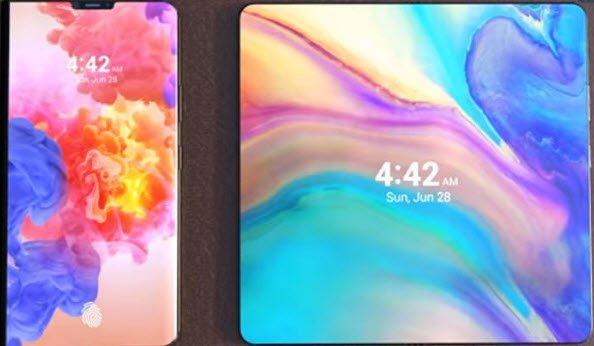 Следующий флагманский смартфон Huawei Mate можно будет сложить благодаря гибкому дисплею