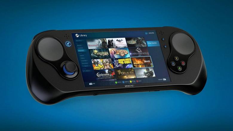 Самый производительный карманный игровой ПК Smash Z поступит в продажу лишь в следующем году