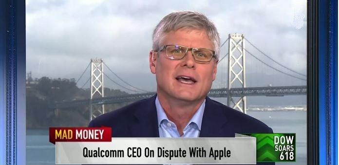 Глава Qualcomm говорит, что спор с Apple почти улажен, но это может быть лишь хорошей миной при плохой игре