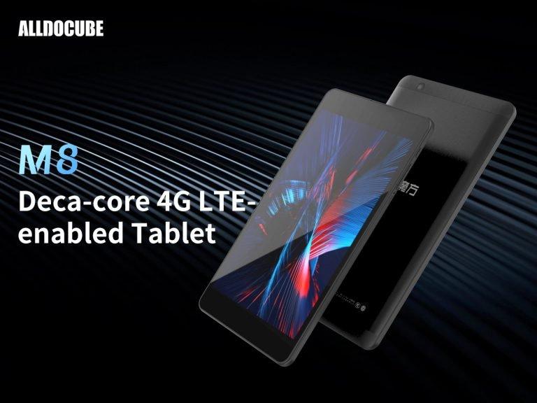 Alldocube M8 – 8-дюймовый планшет со встроенным модемом LTE и 10-ядерным процессором