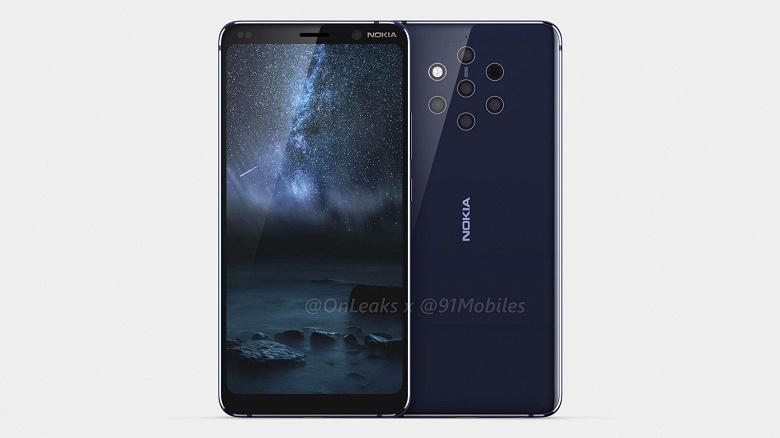 Смартфон Nokia 9 с многомодульной камерой дебютирует в феврале