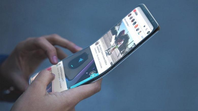 Над оболочкой для своего первого складного смартфона Samsung работает вместе с Google