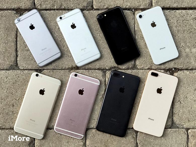 В США сейчас активен 181 млн смартфонов iPhone, 75 млн из которых — достаточно старые модели