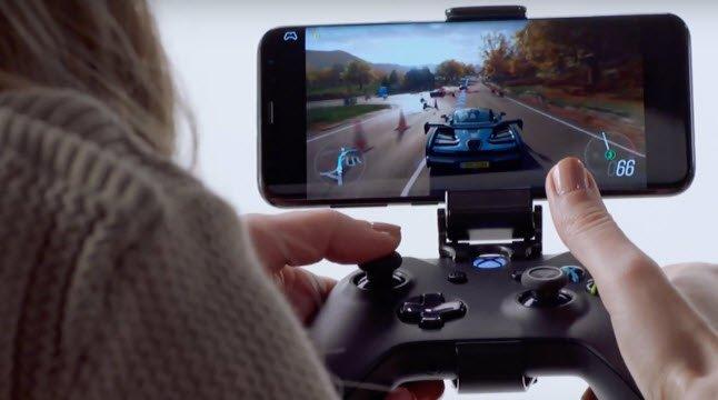 На смартфонах Samsung можно будет поиграть в игры для Xbox One