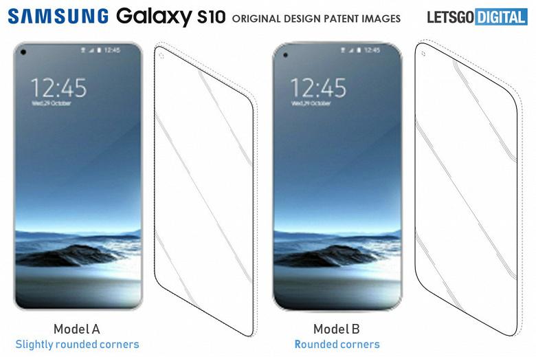Samsung работает над несколькими вариантами дизайна флагманского смартфона Galaxy S10