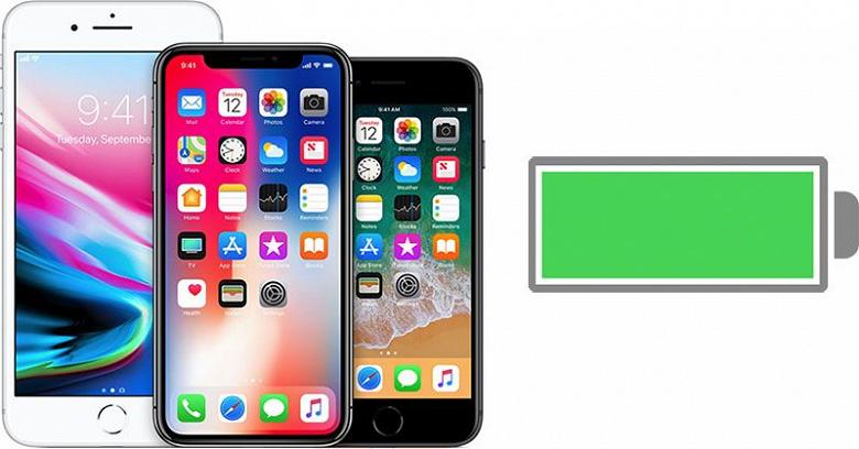 Apple начала замедлять iPhone 8, iPhone 8 Plus и iPhone X