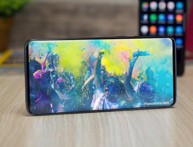 Галерея дня: Samsung Galaxy S10 и S10+ в градиентных цветах в сравнении с другими смартфонами Samsung и Apple