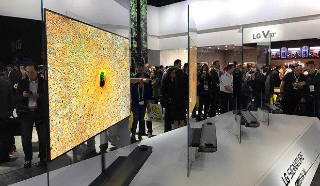 LG продала 3 миллиона телевизоров OLED