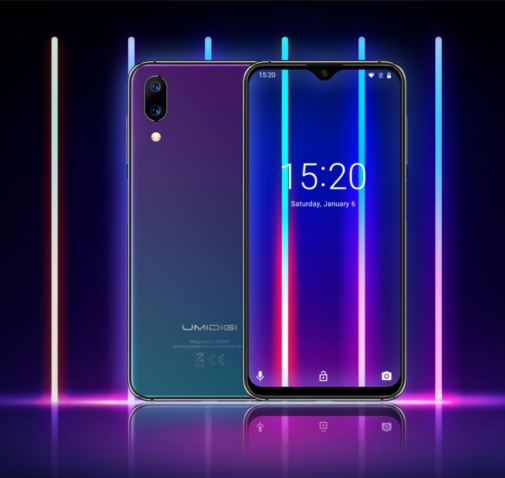 Большой смартфон Umidigi One Max получил 15-ваттную беспроводную зарядку и модуль NFC