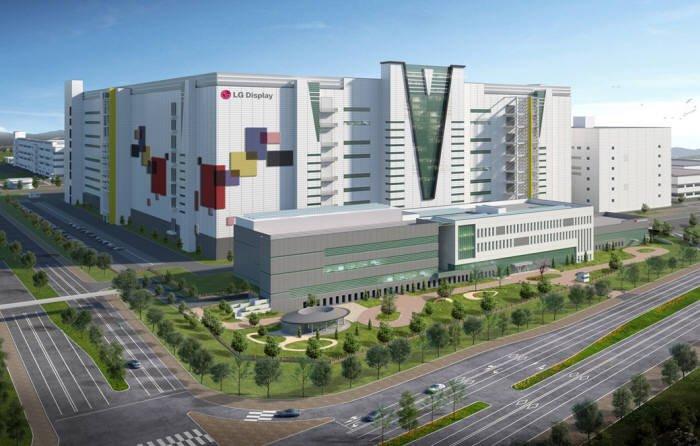 LG Display устанавливает оборудование на фабрике телевизионных панелей OLED в Гуанчжоу