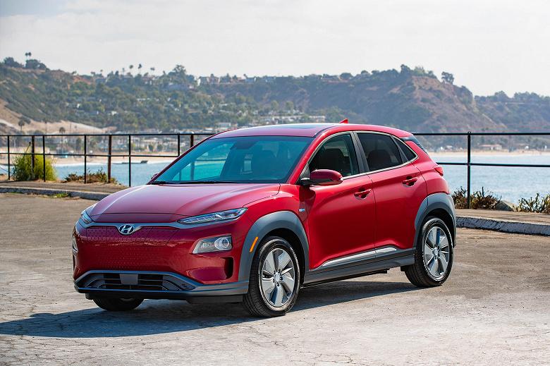 Электромобиль Hyundai Kona обойдется американским покупателям менее чем в 30 000 долларов