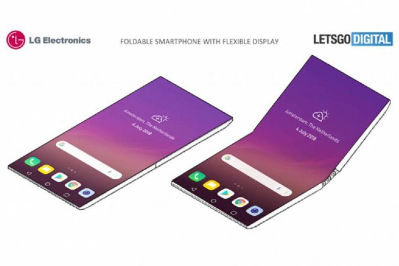 LG не успела подготовить сгибающийся смартфон к январской CES 2019