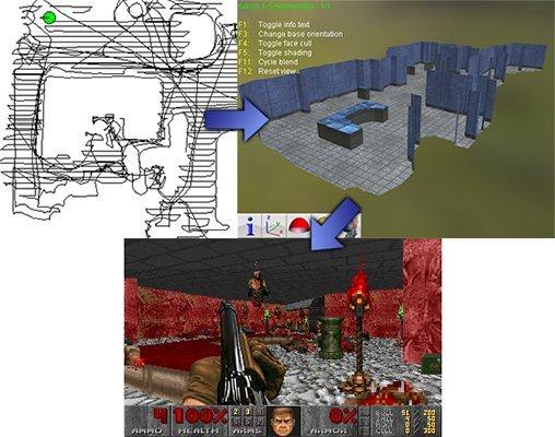 Робот-пылесос приспособили для создания карт к культовому шутеру Doom