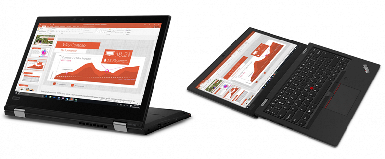 Ноутбуки Lenovo ThinkPad L390 и L390 Yoga