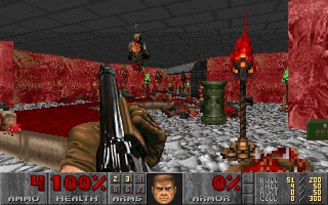 Разработчик создаёт карты Doom изданных разумного пылесоса
