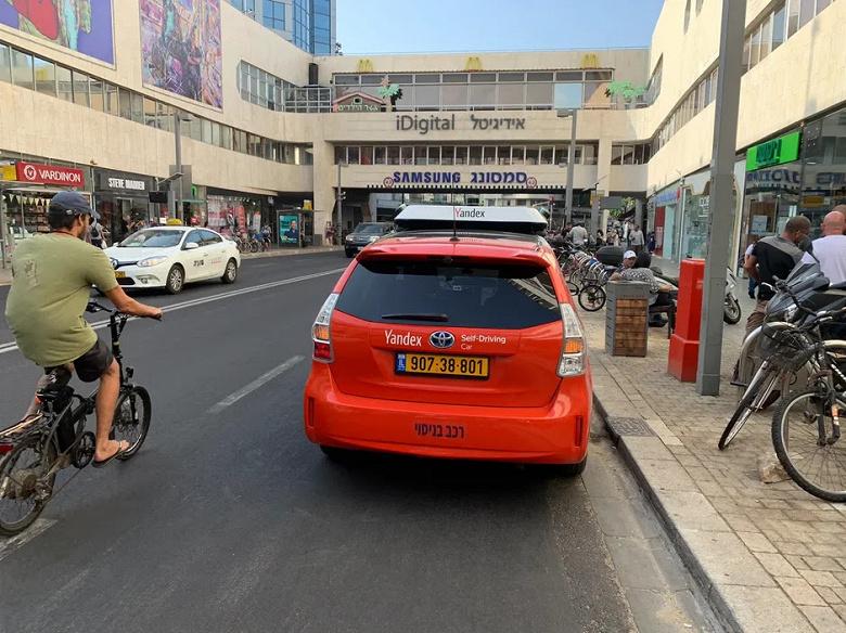 Беспилотник «Яндекса» запустят на дороги общего пользования в Тель-Авиве