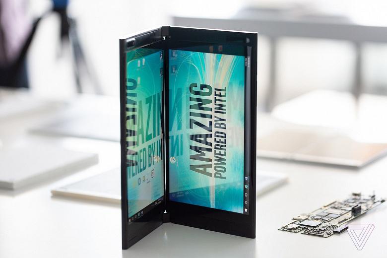 Microsoft работает над проектом Centaurus – складным планшетом с двумя экранами на платформе Intel