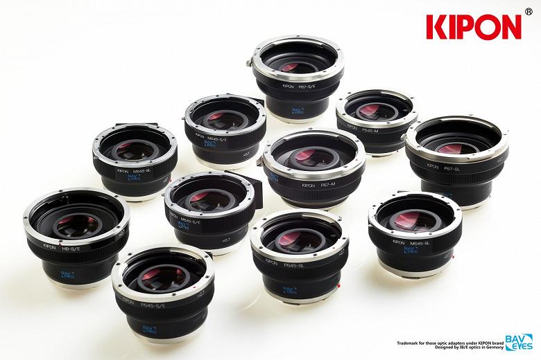 Новые адаптеры Kipon Baveyes позволяют использовать среднеформатные объективы с камерами Nikon Z и Canon EOS R