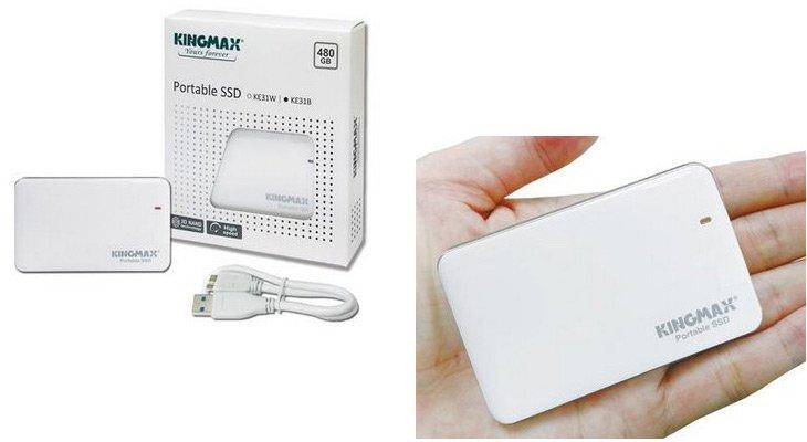 Внешний SSD Kingmax KE31 предложен объемом 240, 480 и 960 ГБ