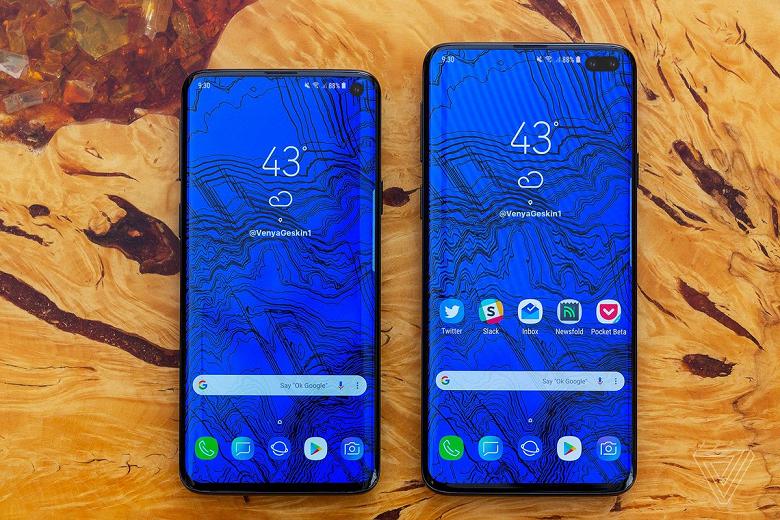 Опубликованы качественные изображения Samsung Galaxy S10 и Galaxy S10+